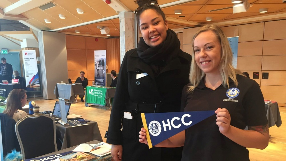 Educational Fair in Sweden