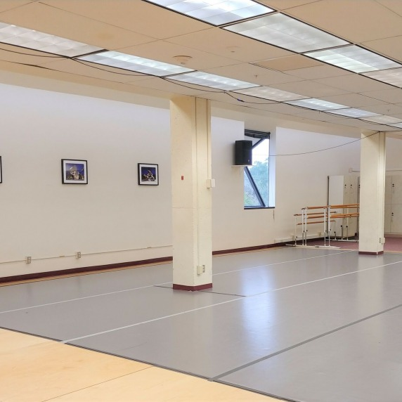 Open space to practice dance routines