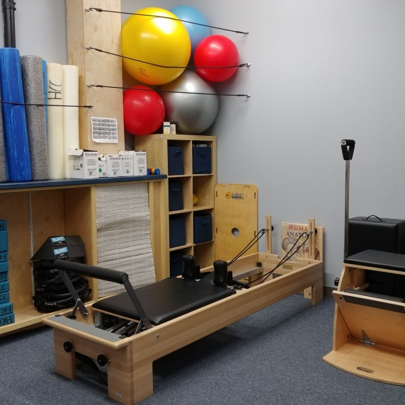 Gym equipment for the Dance department