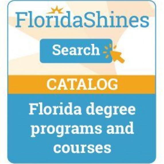 Search the Florida Shines Catalog for degree programs and courses
