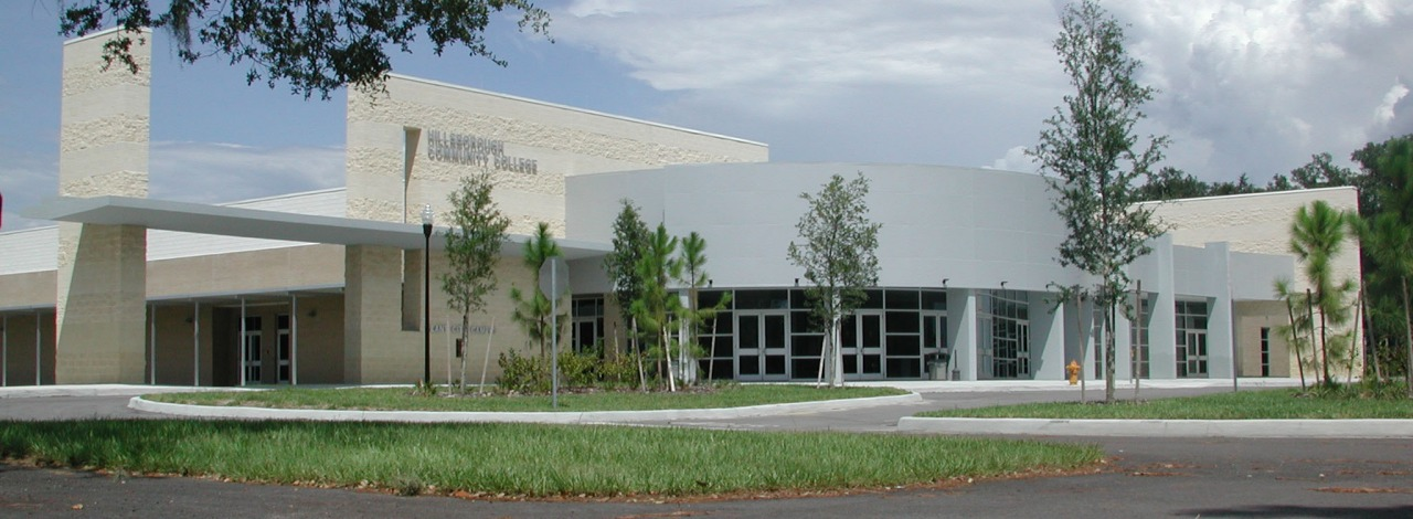 daytime exterior view of the Trinkle Center