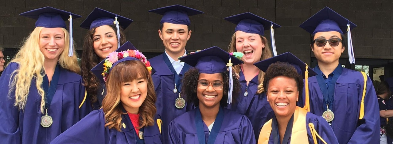 International HCC graduates at commencement