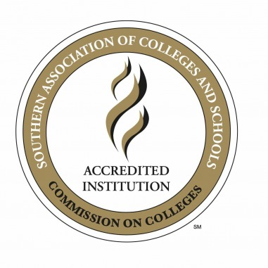logo for the Southern Association of Colleges and Schools Commission on Colleges